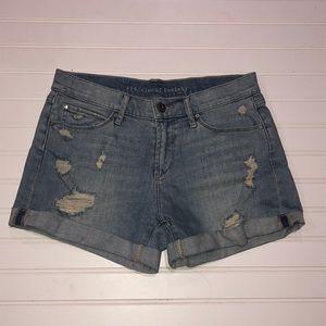 Articles of society denim shorts